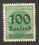 Stamps Germany -  266 - cifra