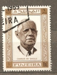 Stamps United Arab Emirates -  CHARLES DE GAULLE