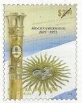 Stamps : America : Argentina :  Bastón Presidencial