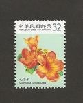 Sellos de Asia - Taiwán -  spathodea campanulata