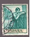 Sellos del Mundo : Europa : España : Poema de Cordoba- Romero de Torres-día del sello