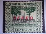 Stamps Colombia -  Departamento de Norte delSantander - Petroleras del Catatunbo