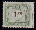 Sellos de Europa - Hungría -  Tasas