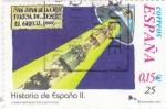 Stamps Spain -  San Juan de la Cruz, Teresa de Jesús, El Greco...-HISTORIA DE ESPAÑA II    (S)