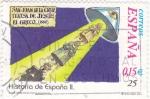 Sellos de Europa - España -  San Juan de la Cruz, Teresa de Jesús, El Greco...-HISTORIA DE ESPAÑA II    (S)