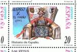 Sellos de Europa - España -  Edifil  3752  Correspondencia Epistolar Escolar. Historia de España.