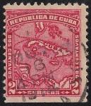 Sellos de America - Cuba -  MAPA DE CUBA