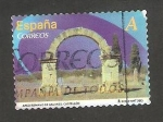 Stamps Europe - Spain -  Arco romano de Cabanes, Castellón