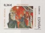 Stamps : Europe : Spain :  España 2012 Edifil 4755 Sello ** Navidad Christmas Noel La Adoracion de los Reyes Catedral Vieja de