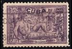 Stamps Cuba -  XEREZ Y TORREZ DESCUBREN EL TABACO.