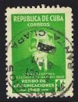 Sellos de America - Cuba -  ISMAEL CESPEDES, TELEGRAFISTA