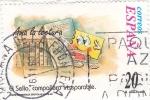Sellos de Europa - España -  AMA LA LECTURA - El sello, compañero inseparable  (S)