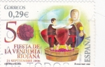 Sellos de Europa - España -  Fiesta de la Vendimia Riojana   (S)
