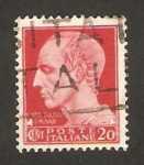 Stamps Italy -  228 - Julio César