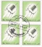 Stamps Bahrain -  AERONAUTICA- MANANA
