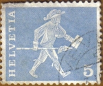 Stamps Switzerland -  Personaje