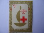 Sellos de America - Colombia -  Centenario de la Cruz Roja Internacional 1963