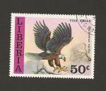 Stamps Liberia -  Ave Haliaeetus