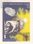 Stamps Hungary -  100 Años del Servicio Meteorológico Hungaro 1870-1970