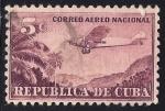 Sellos de America - Cuba -  AEROPLANO.