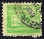Stamps Cuba -  CONSEJO NACIONAL DE TUBERCULOSIS.
