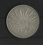 monedas del Mundo : America : México :  Gorro Frigio / anverso