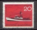 Stamps Germany -  339 - Centº de la sociedad de salvamento marítima