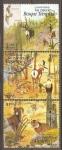 Stamps Mexico -  ESPECIES  DEL  BOSQUE  TEMPLADO  Y  ESPECIES  DEL  DESIERTO