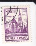 Sellos del Mundo : Europa : Rumania : CATEDRAL DE CLUJ