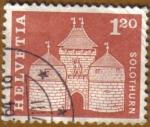 Stamps Switzerland -  SOLOTHURN