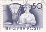 Stamps Hungary -  TENDERA