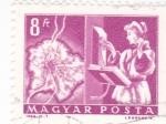 Stamps Hungary -  OPERADORA TELEFÓNICA