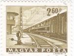 Sellos de Europa - Hungría -  ESTACIÓN FERROVIARIA