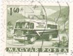 Stamps Hungary -  MICROBUS