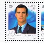 Sellos de Europa - España -  Edifil  3856 A  25º aniver. del Reinado de S.M. Don Juan Carlos I.