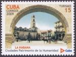 Sellos de America - Cuba -  CUBA - Ciudad vieja de La Habana y su sistema de Fortificaciones
