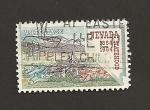 Stamps United States -  Centenario Estado Nevada