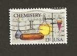 Stamps United States -  Química