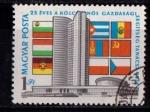 Sellos de Europa - Hungría -  Consejo económico