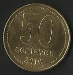 monedas de America - Argentina -  EN UNION Y LIBERTAD (FRONTAL)