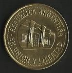 monedas de America - Argentina -  EN UNION Y LIBERTAD (POSTERIOR)