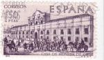 Sellos de Europa - España -  CASA DE LA MONEDA, SANTIAGO DE CHILE-Forjadores.de América Chile  (T)