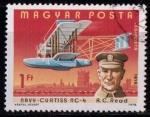 Sellos de Europa - Hungría -  Historia de la aviación