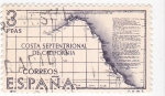 Stamps : Europe : Spain :  COSTA SEPTENTRIONAL DE CALIFORNIA.Forjadores de América Costa de Mutka (T)