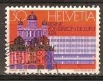 Sellos de Europa - Suiza -  Berna fundación de la UPU 1984.