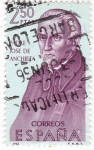 Stamps Spain -  JOSE DE ANCHIETA -