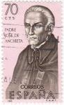 Stamps Spain -  PADRE JOSE DE ANCHIETA-