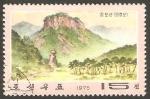Sellos de Asia - Corea del norte -  1305 - Monte Chilbo-San