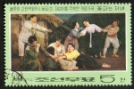 Sellos de Asia - Corea del norte -  Opera.