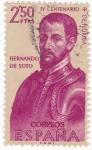 Stamps Spain -  HERNANDO DE SOTO -